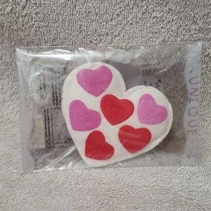 Accessories - Confetti Soap Heart NIP